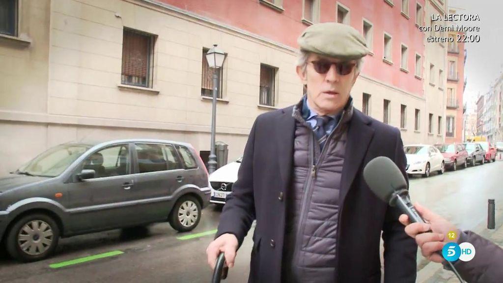 """Alfonso Díez zanja la polémica sobre su """"amistad especial"""" con la Reina Sofía"""