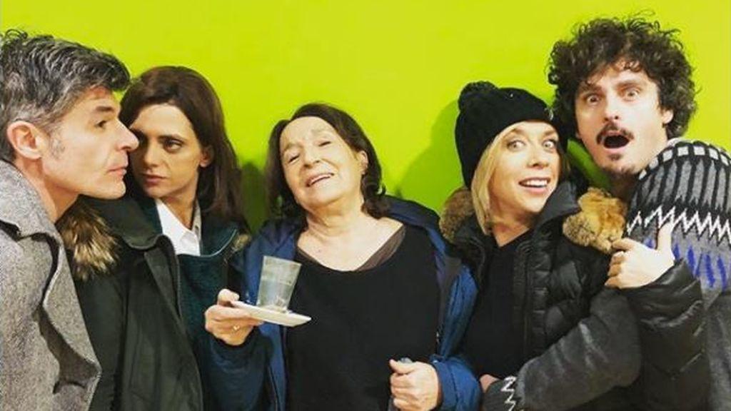 Los actores de 'LQSA' nos enseñan los entresijos del rodaje de la undécima temporada