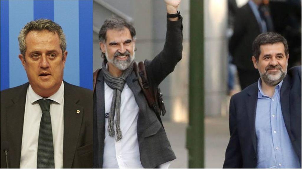 La nueva estrategia de los 'Jordis' y de Forn para salir de prisión: separarse de la vía unilateral