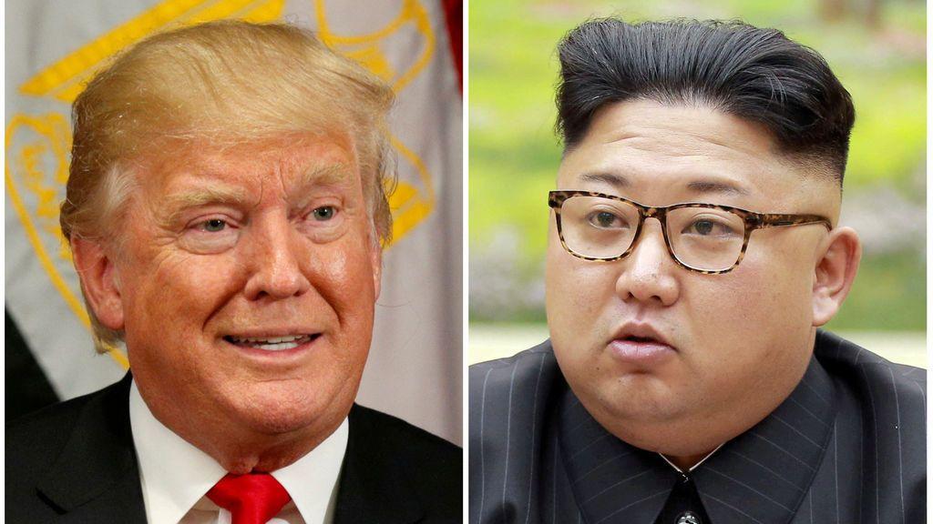 """Trump cree que """"probablemente"""" tendría una buena relación con Kim Jong Un"""