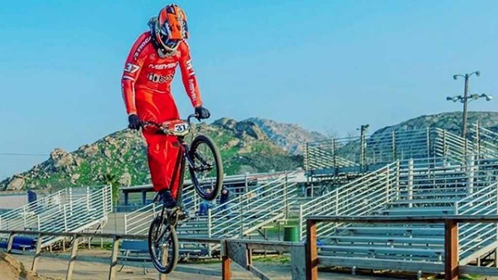 Jelle van Gorkom, subcampeón olímpico de BMX, en coma tras un accidente