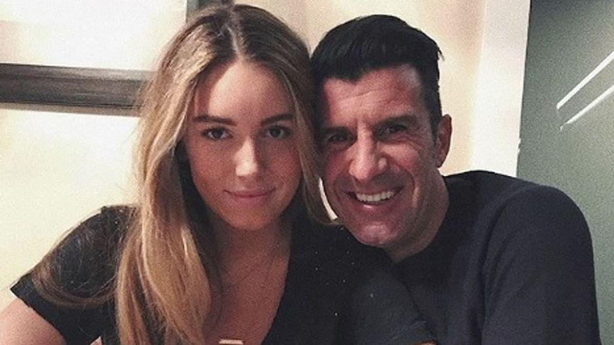 La hija de Figo desmiente que sea ella la protagonista de varios vídeos sexuales que circulan por la red