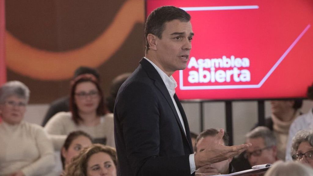 """Pedro Sánchez: """"Un presidente de Cataluña tiene que vivir en Cataluña"""""""