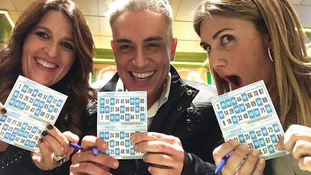 Carlota Corredera, Kiko H., Gustavo... ¡Noche de bingo después de 'Sálvame'!