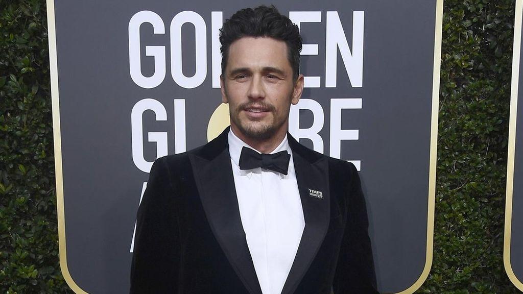 James Franco, en los Globos de Oro 2018.