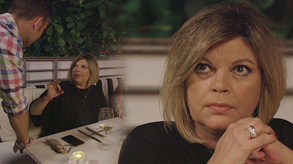 """Monumental enfado de Terelu con un 'chico de compañía': """"Te doy una hostia que te pongo del revés"""""""