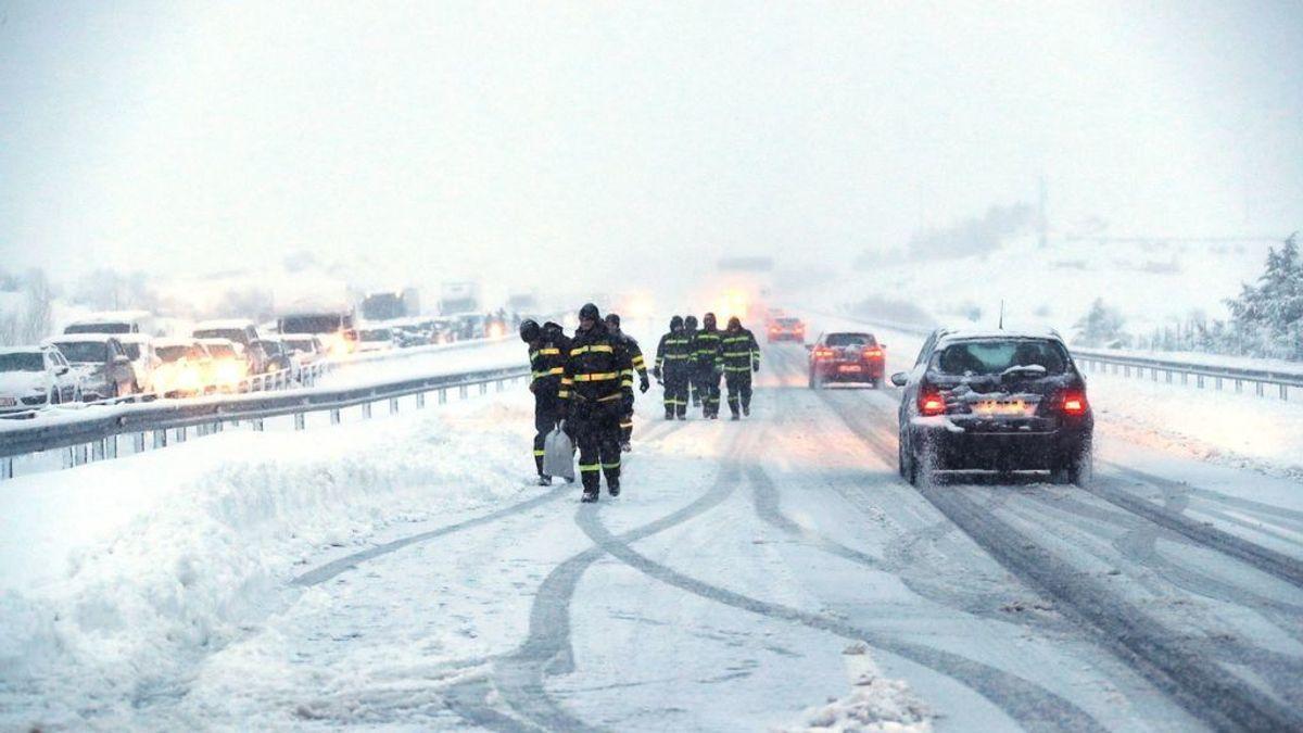 Autopistas mantiene activos los dispositivos de seguridad ante nuevas nevadas