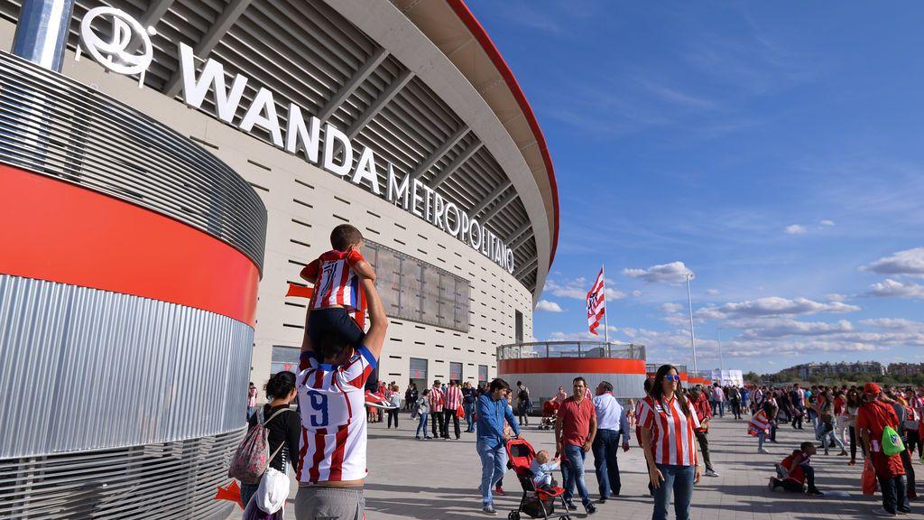 El ultra del Atlético que agredió a un vigilante en el Metropolitano se enfrenta a 60.000 euros de multa