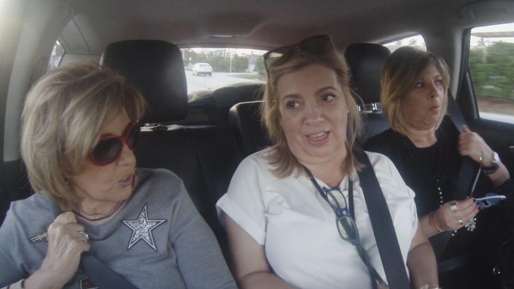 """¡Interrogatorio Car! Carmen y Terelu lo quieren saber todo sobre el """"amigo"""" de Mª Teresa en Miami"""