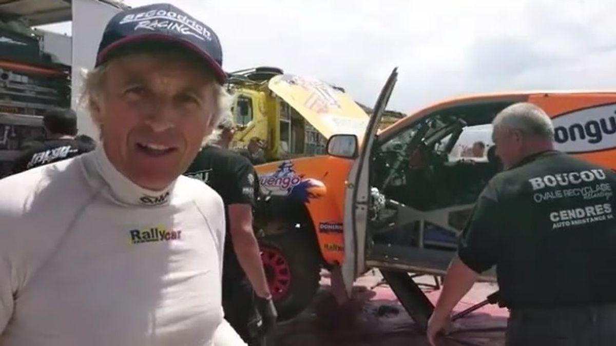El detallazo de Carlos Sainz con Jesús Calleja tras su complicado día en el Dakar