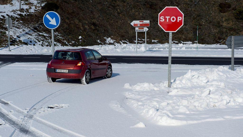 Atentos a las carreteras en otro fin de semana de frío y nieve