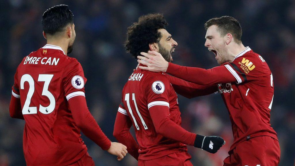 El Liverpool golpea al 'invencible' Manchester City (4-3)