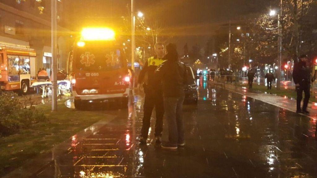 Fallece un peatón al ser atropellado por un tranvía en Zaragoza