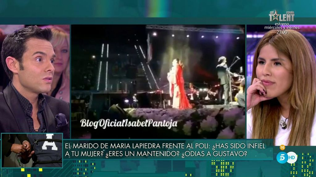 Chabelita admite que Isabel Pantoja llamó gordo y maricón a su amigo Sema