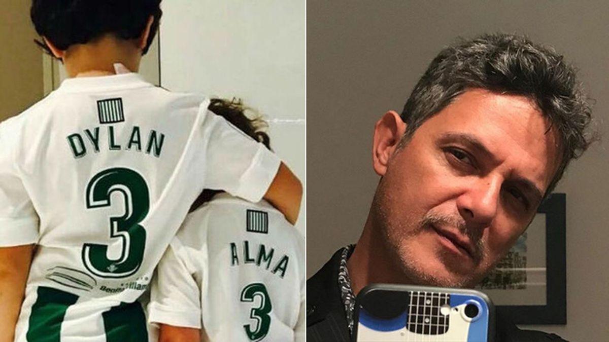 """Los hijos de Alejandro Sanz presumen de beticismo: """"No intentes ser solo el mejor del equipo, intenta que tu equipo sea el mejor"""""""
