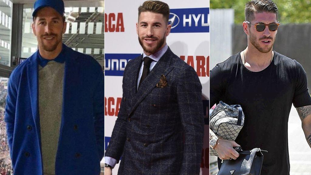 Qué sí y qué no del look azul eléctrico y otros estilismos de Sergio Ramos
