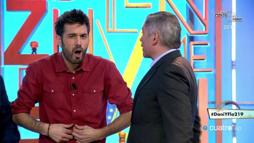 Cobra sí o cobra no: así ha saludado Boris Izaguirre a Dani Martínez
