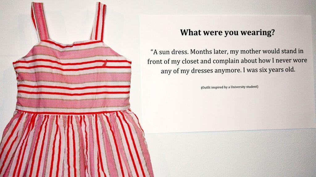 '¿Qué llevabas aquel día?', la ropa de las víctimas de violaciones para concienciar