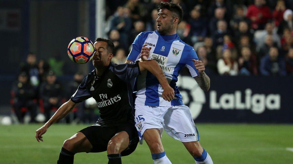 Leganés-Real Madrid, la ida de los cuartos de final de Copa, este jueves a  las 21.30 en Telecinco