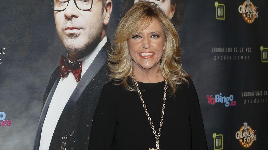 La periodista Lydia Lozano fue encantada al musical de Jorge Javier