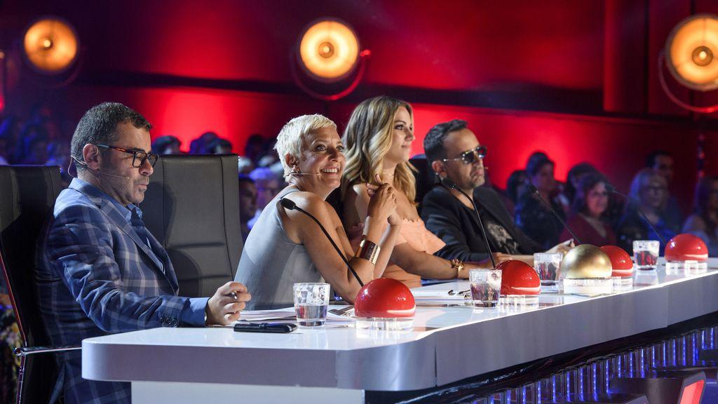 ¡El jurado ya está listo para 'Got Talent'! Edurne, Jorge Javier, Eva Hache y Risto visten sus mejores galas