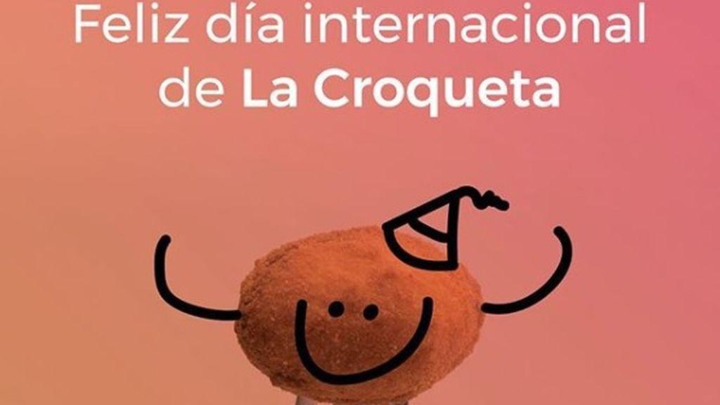 Por fin una fiesta que quiero celebrar: ¡viva el día internacional de la croqueta!
