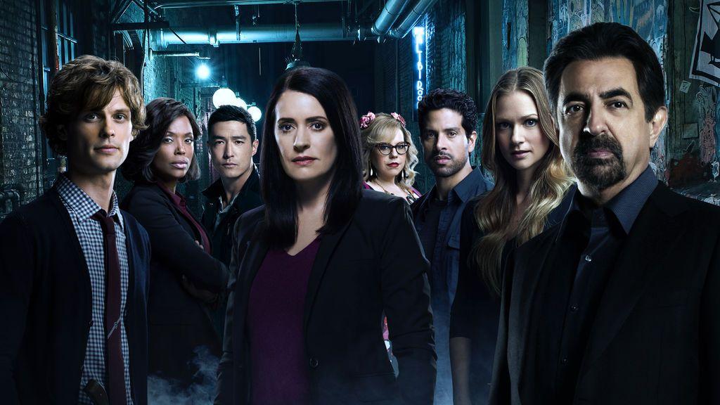 Cartel de la 13ª temporada de 'Mentes criminales'.