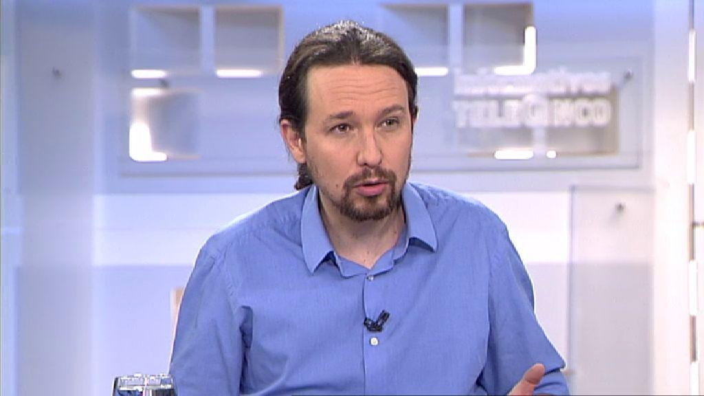 "Pablo Iglesias: ""No vamos a apoyar a Puigdemont en ningún caso"""