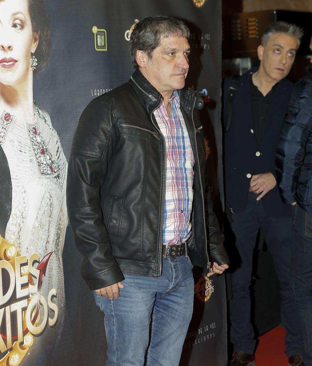 Gustavo González no se quiso perder el musical de su compañero