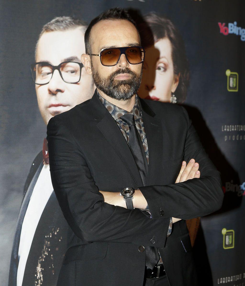 Su compañero en 'Got Talent', Risto Mejide, quiso acompañar a Jorge Javier en una noche tan especial