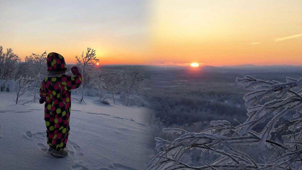 Tras 40 días de 'noche polar', vuelve a salir el sol en la ciudad rusa de Múrmansk