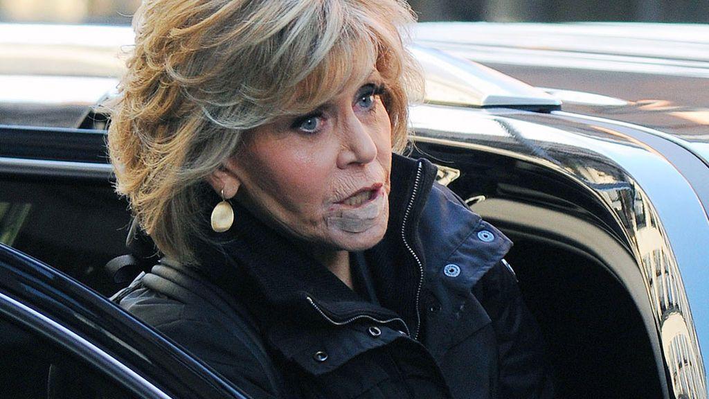"""Jane Fonda, sobre su cáncer: """"El mundo se está cayendo a pedazos, qué es un labio"""""""