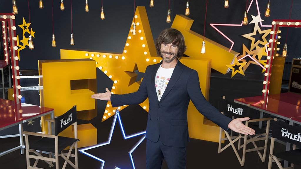 Imágenes del presentador y de los miembros del jurado de 'Got talent España'.
