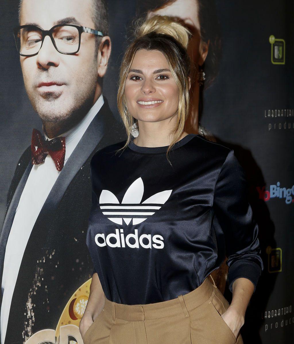 La nueva colaboradora de 'Sálvame', María Lapiedra, también estaba invitada