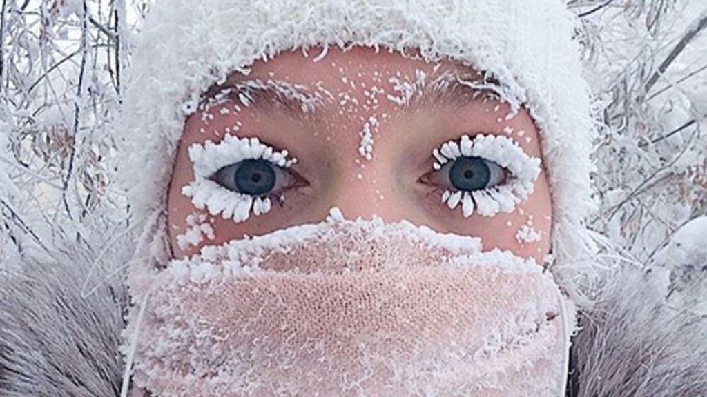 El frío congela Rusia: así es vivir a 62 grados bajo cero