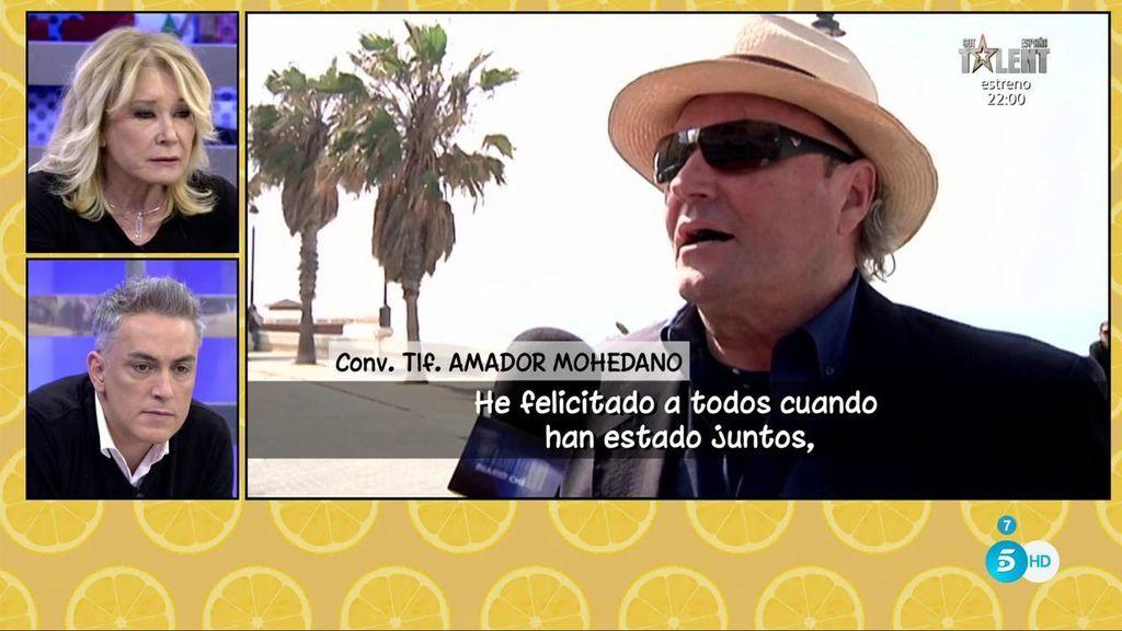 """Amador Mohedano, a Mila Ximénez: """"Que vaya ella a dar clases de periodismo y a cortar flores"""""""