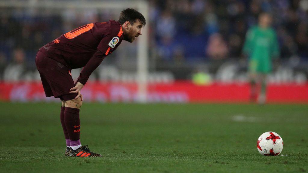 El Espanyol sorprende al Barcelona y gana con un gol en el minuto 87 (1-0)