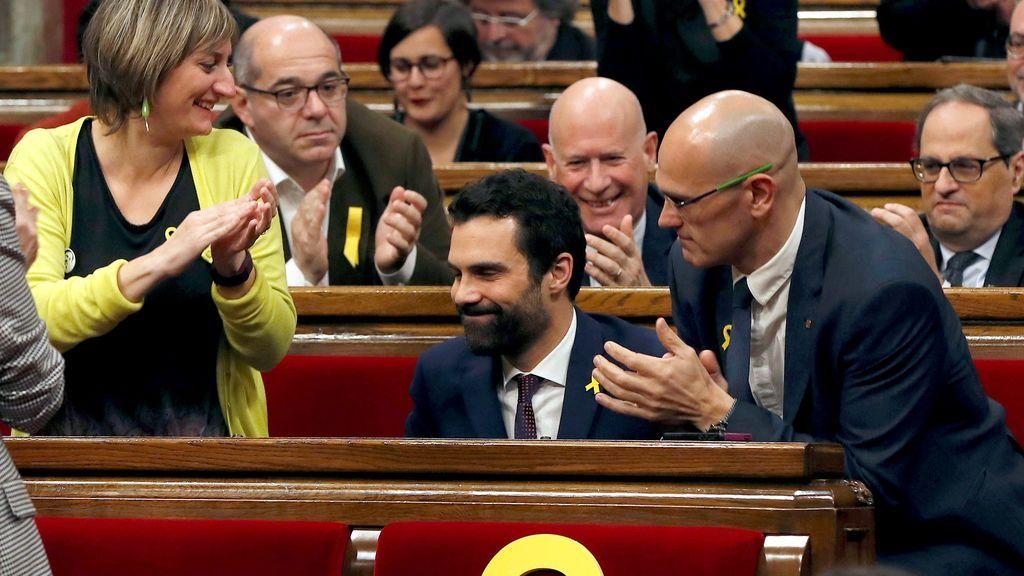 El independentismo se hace con la presidencia del Parlament