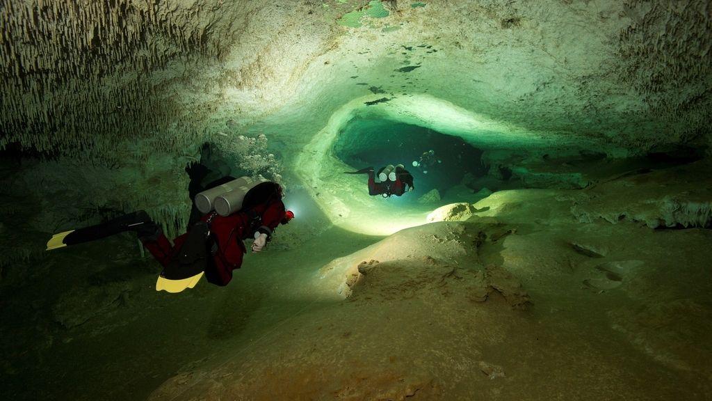 ¿Cómo es la recién descubierta mayor cueva sumergida del mundo? Tenemos las imágenes