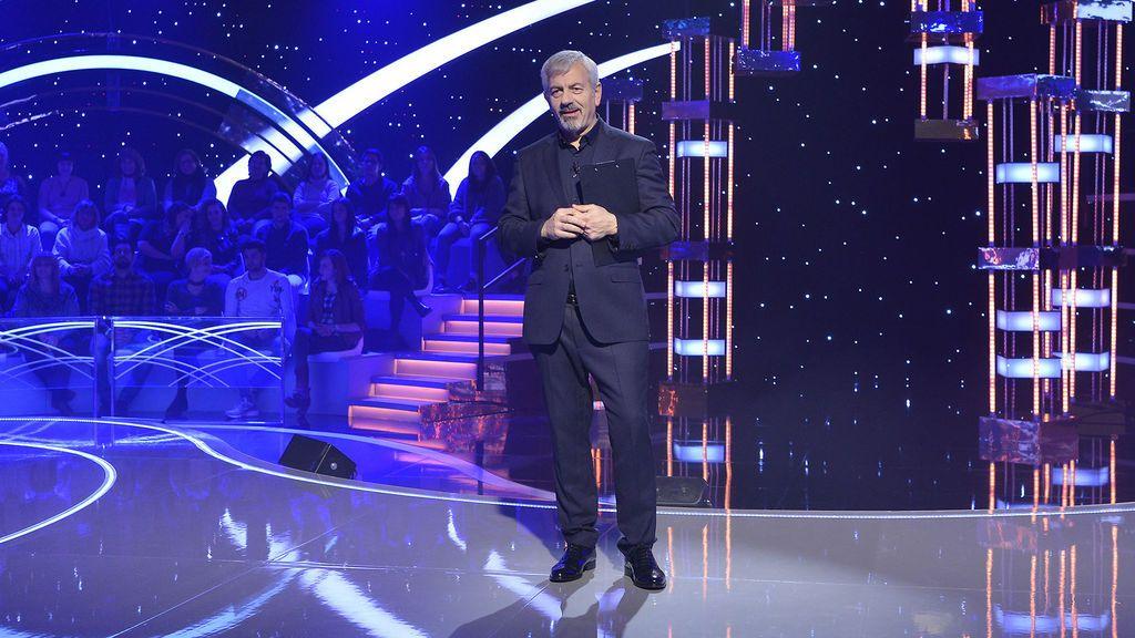 Carlos Sobera presenta 'Volverte a ver' en Telecinco.