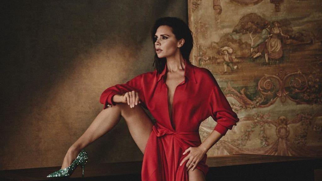 Suite kilométrica y extravagante grifos dorados: así fanfarronea Victoria Beckham cuando viaja