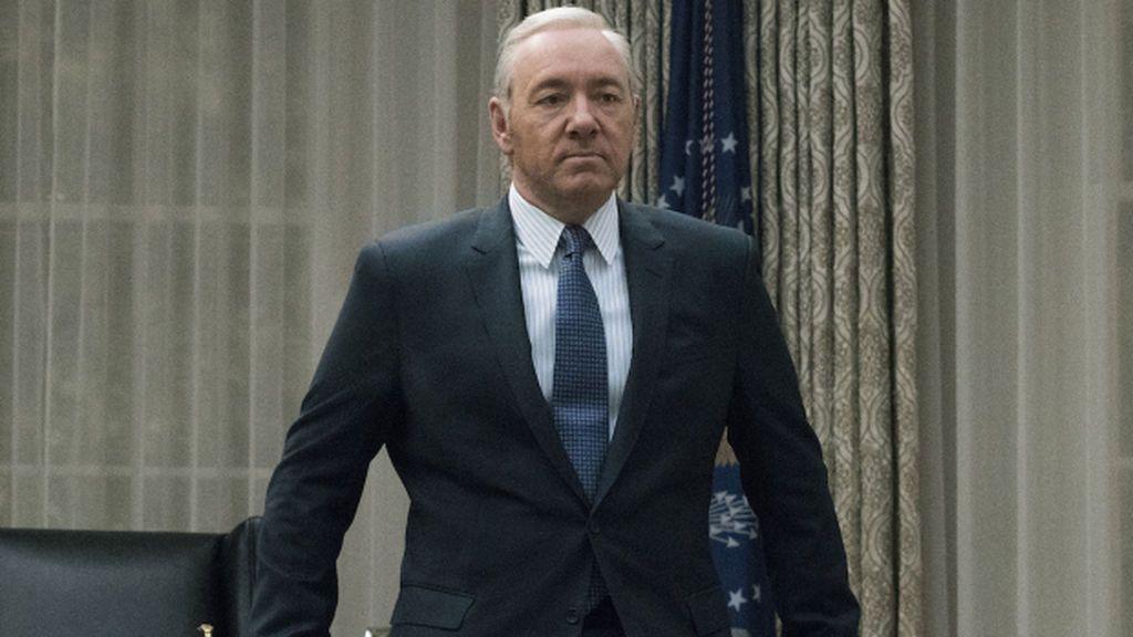 Kevin Spacey, que interpreta a Frank Underwood en 'House of cards', en una escena de la quinta temporada de la serie de Netflix.