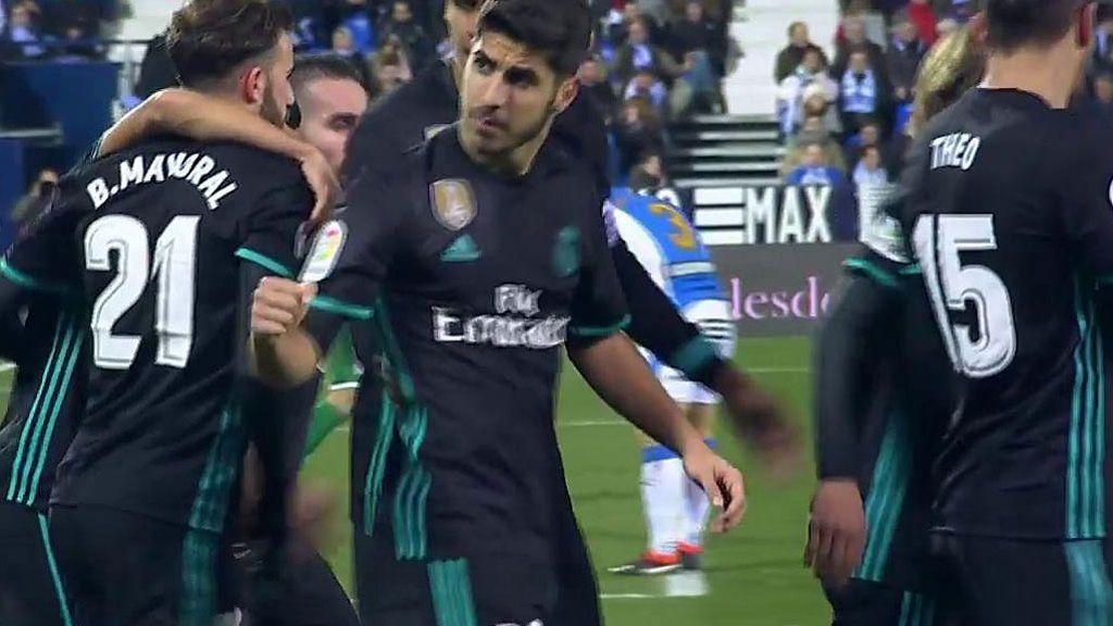 Asensio rescata al Madrid en Butarque (0-1) y encarrila el pase a semifinales