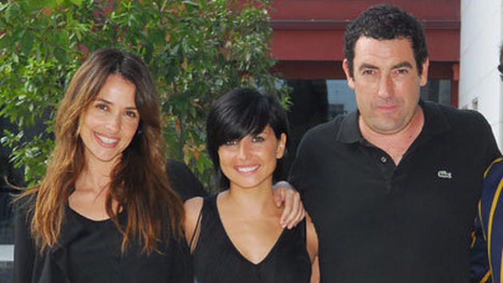 Patricia Vico, Marian Alvárez y Daniel Calparsoro, en la presentación de la 'tv movie' 'La ira' que Telecinco emitió en 2009.