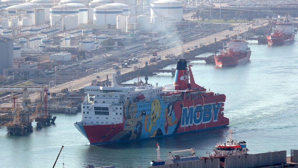 El Gobierno gastó 26,5 millones en fletar y mantener el servicio de los tres barcos del 1-O