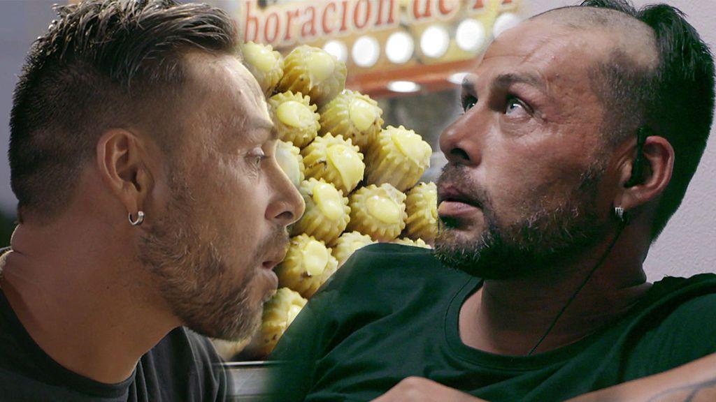 Paco se queda con media cabeza rapada tras perder una apuesta con Scorpion y Moro Juan