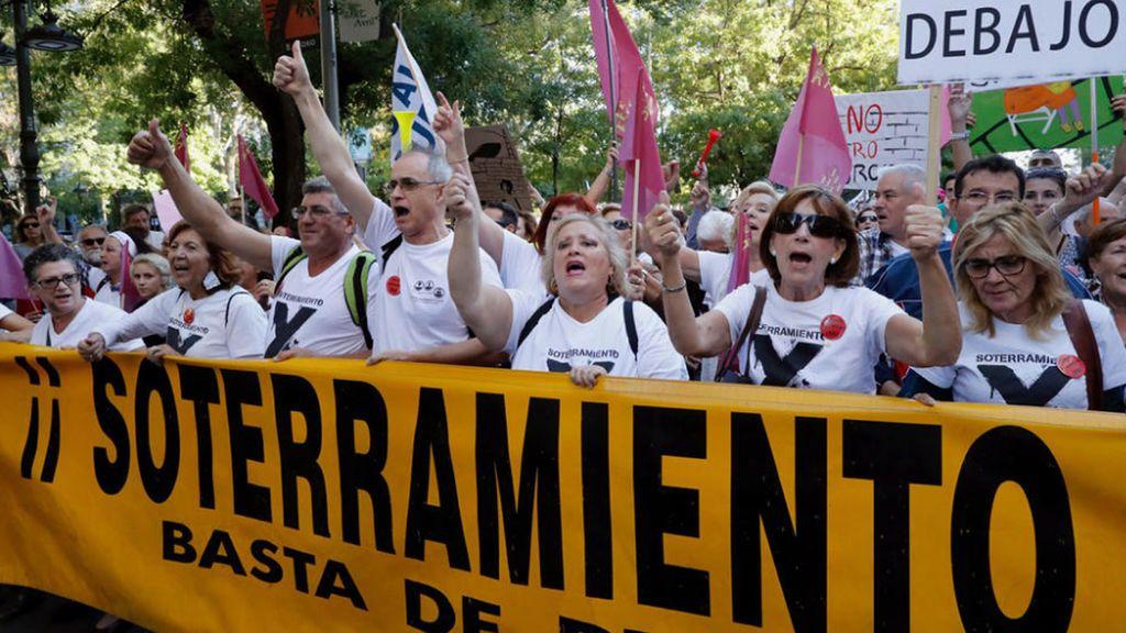 Tres detenidos en Murcia relacionados con las protestas por las obras del soterramiento del AVE