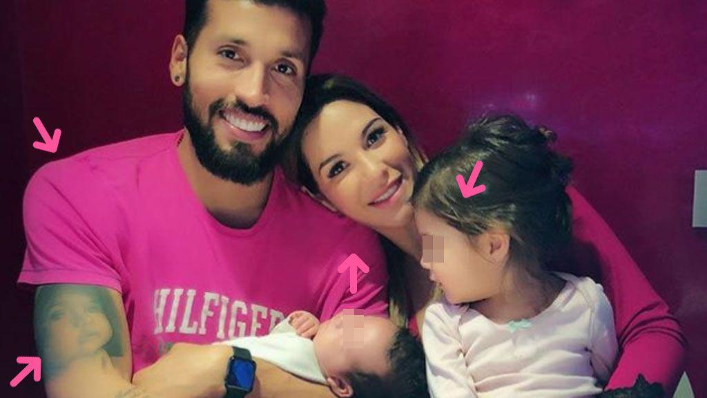 """Fucsia, """"salud, amor, paz"""" y más detalles de la foto family por el cumple de Tamara Gorro"""