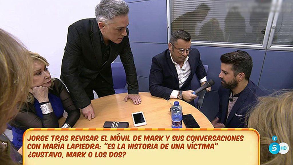 """Mark  muestra sus conversaciones con María Lapiedra y son """"una bomba de relojería"""""""