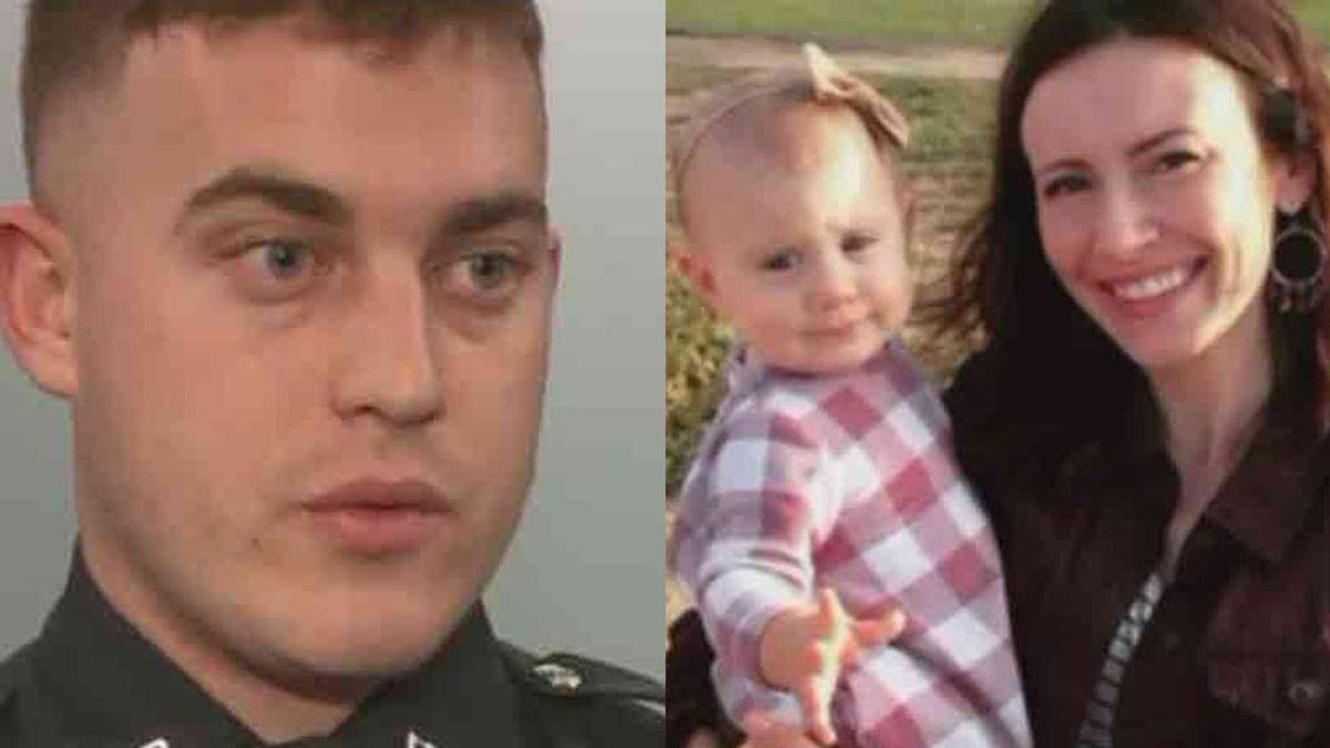 Salva a un bebé que se estaba asfixiando en su primera acción como policía